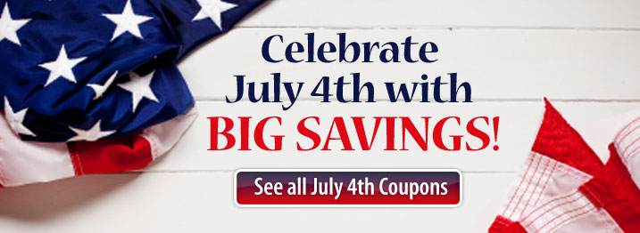 Independence Day gifts, deals, discounts and cash back savings